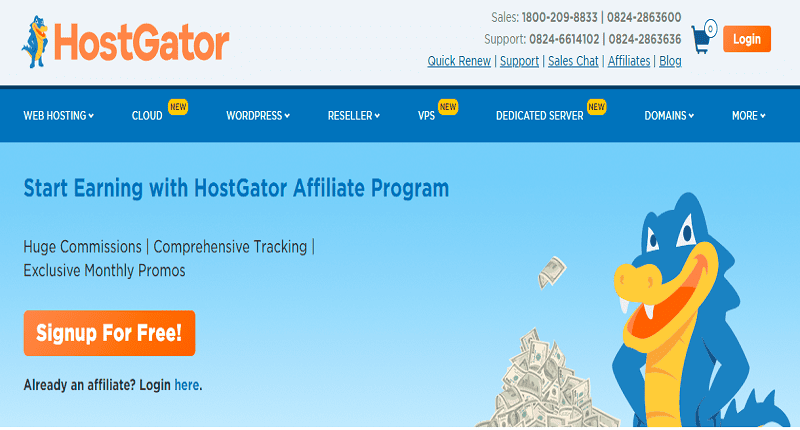 top hosting affiliate programs